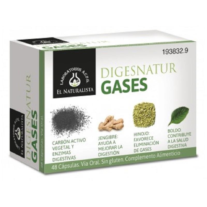 A base de carbón activado, jengibre, hinojo, boldo y enzimas digestivas. Elimina los gases y evita su formación realizando una digestión perfecta.