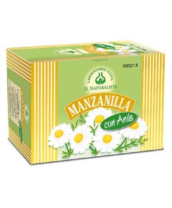 La manzanilla con anís ayuda a eliminar los gases y mejora los dolores abdominales.
